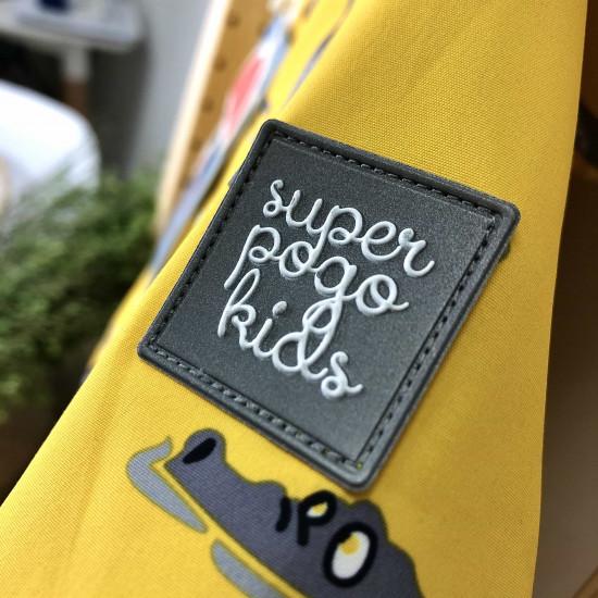 Демисезонный мембранный комбинезон Pogo Kids Крокодильчики  Желтый 88882-6