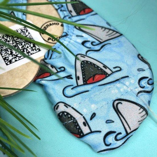 Антискользящие аквачешки Акулы BO-89045