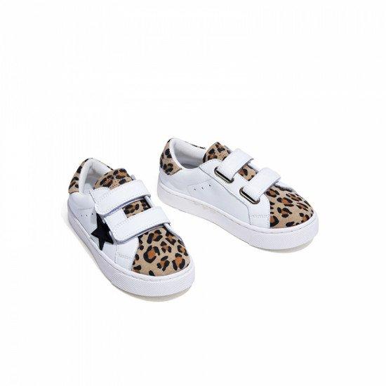 Кеды Snoffy 208410 Leopard
