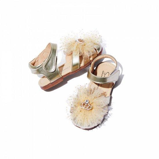 Босоножки Snoffy 217305 Gold
