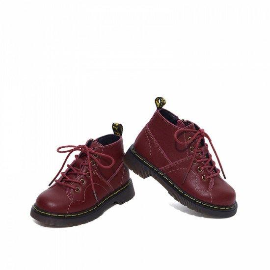 Ботинки Snoffy 209515 Wine Red