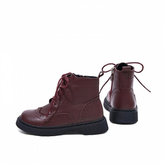 Ботинки Snoffy 209502 Wine Red