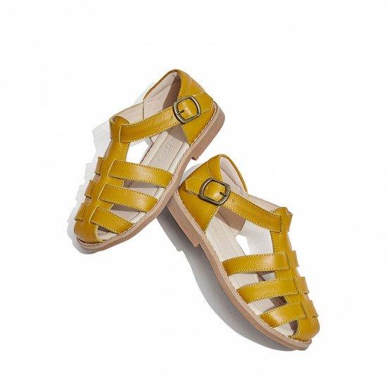 Босоножки Snoffy 20714 Yellow