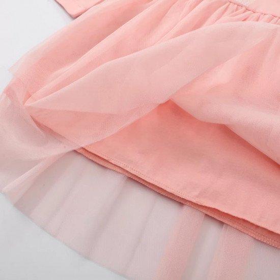 Платье с пайетками и фатиновой юбкой JM-113